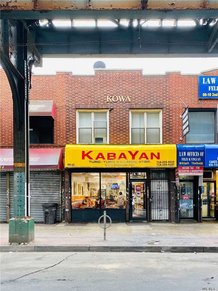 Commercial for sale in 69-12 Roosevelt Ave, Woodside, NY ,11377