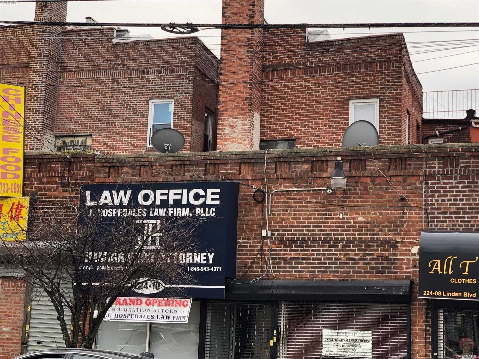 Commercial for sale in 224-10 Linden Blvd, Cambria Heights, NY ,11411