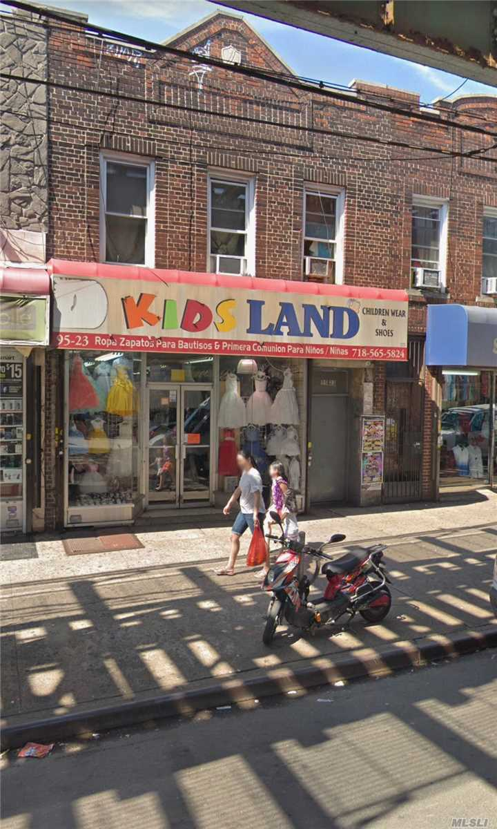 Commercial for sale in 95-23 Roosevelt Ave, Jackson Heights, NY ,11372