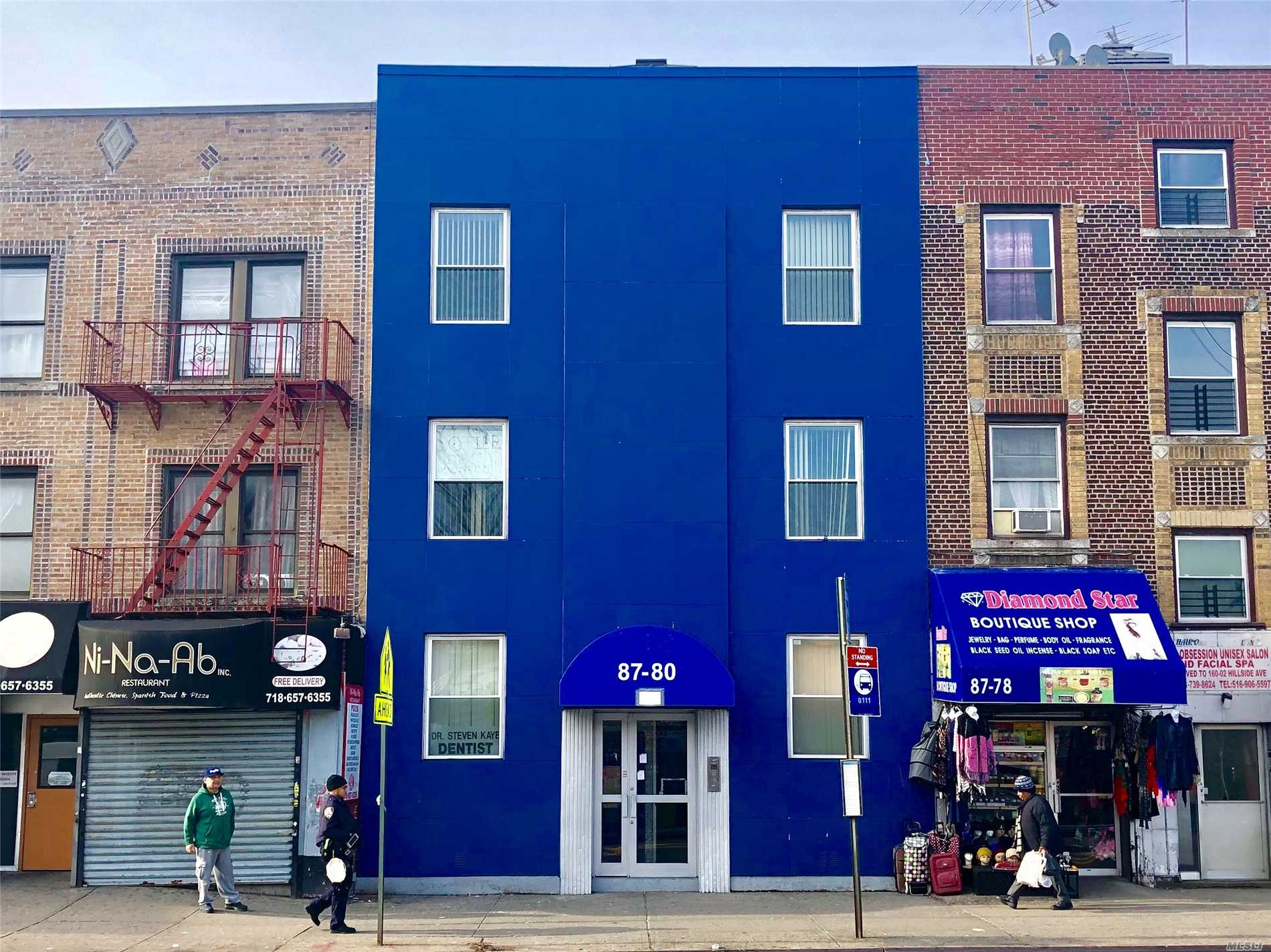 Commercial for sale in 87-80 Parsons Blvd, Jamaica, NY ,11432