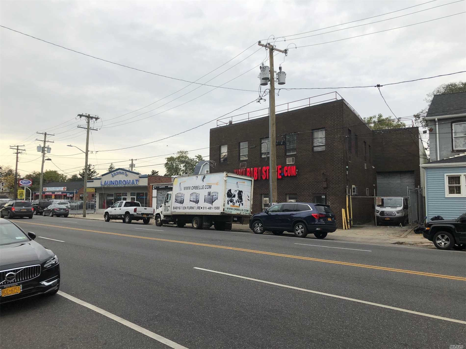 Commercial for sale in 347 Clinton St, Hempstead, NY ,11550