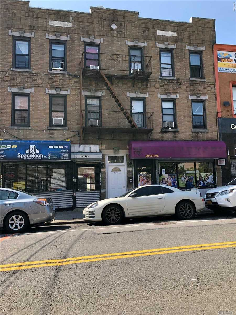 Commercial for sale in 102-48 43 Ave, Corona, NY ,11368