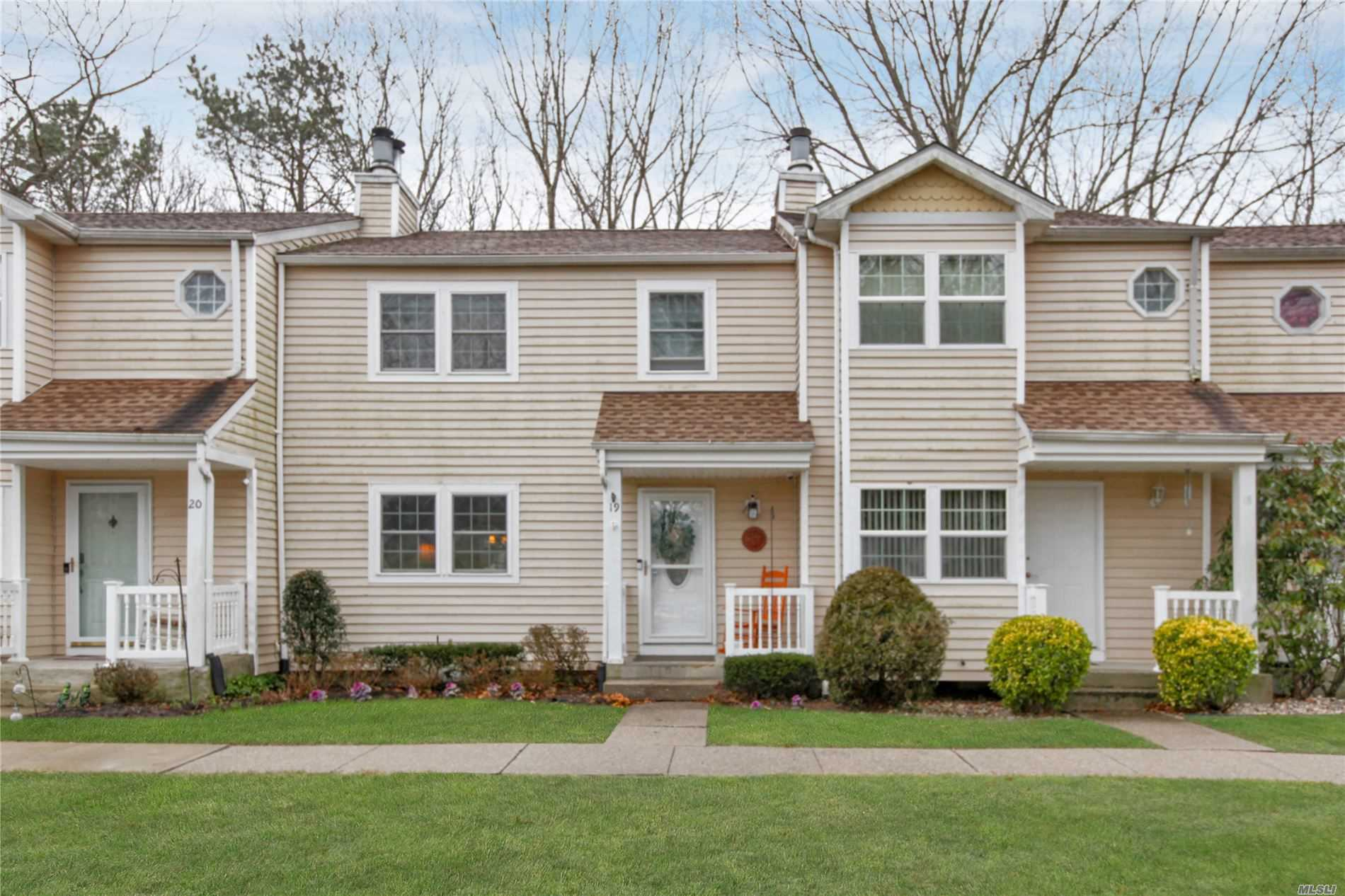 Condominium for sale in 19 Adams Commons, Yaphank, NY ,11980