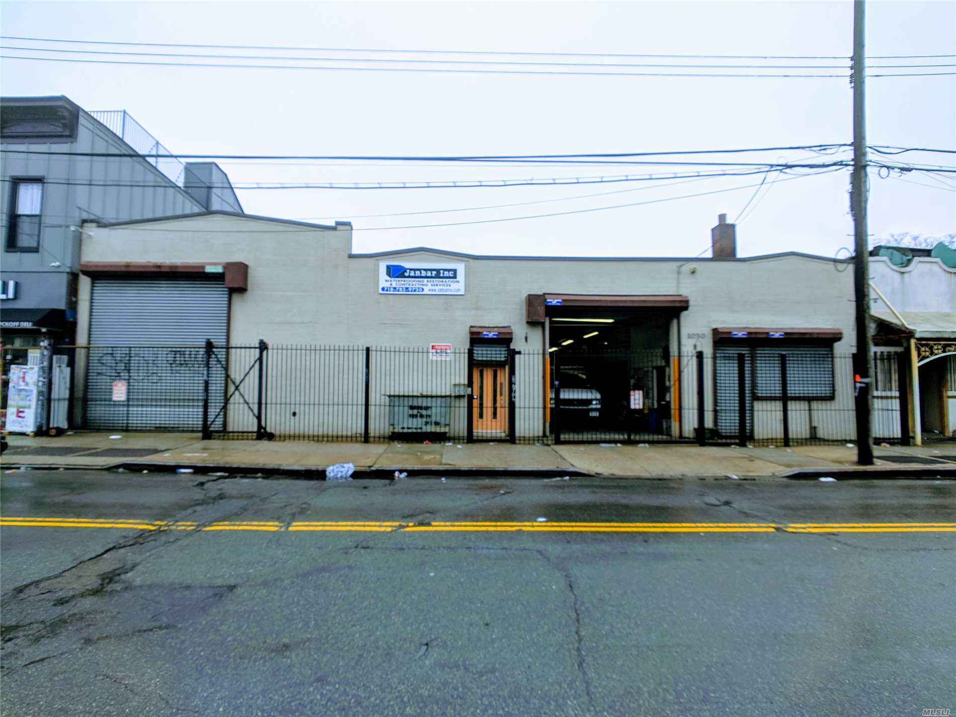 Commercial for sale in 1030 &1032 Wyckoff Ave, Ridgewood, NY ,11385