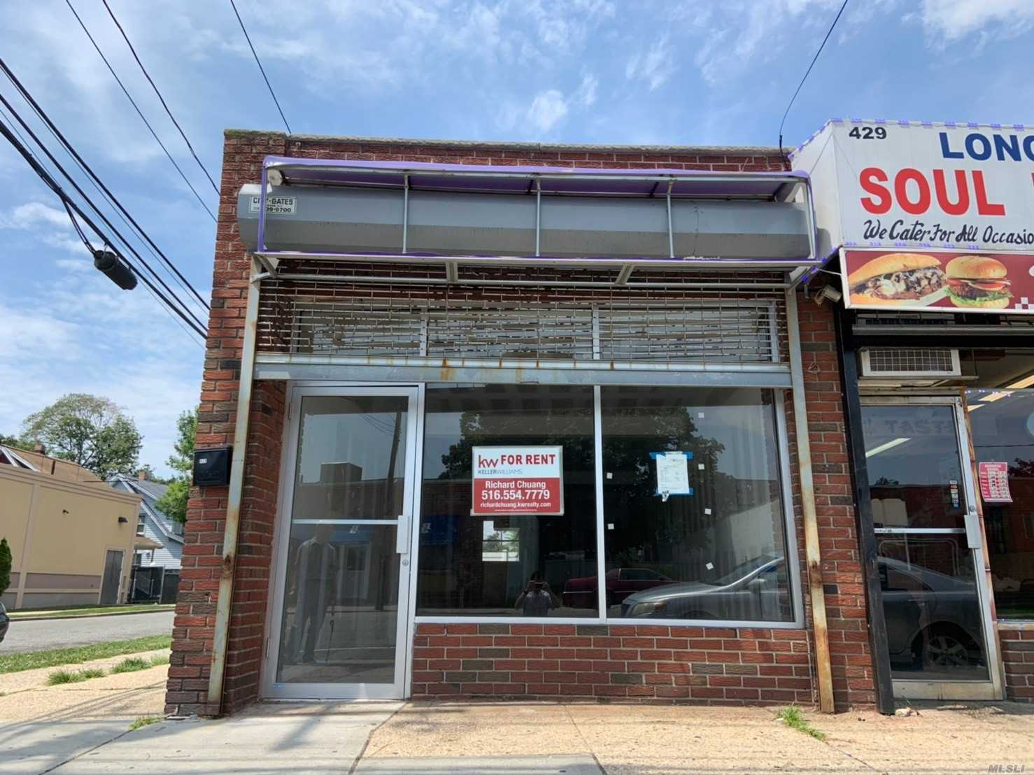 Commercial for sale in 427 Franklin S St, Hempstead, NY ,11550