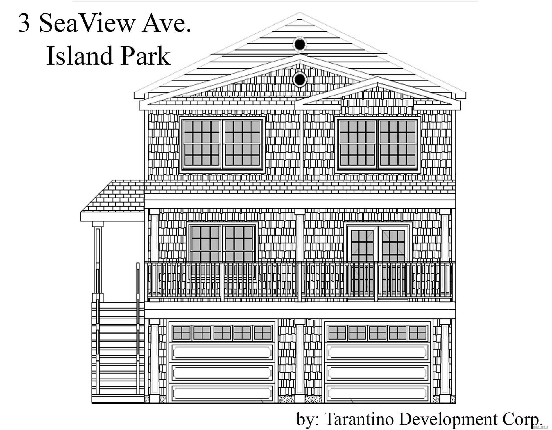 Residential For Sale in 3 Seaview Ave, Island Park, NY ,11558