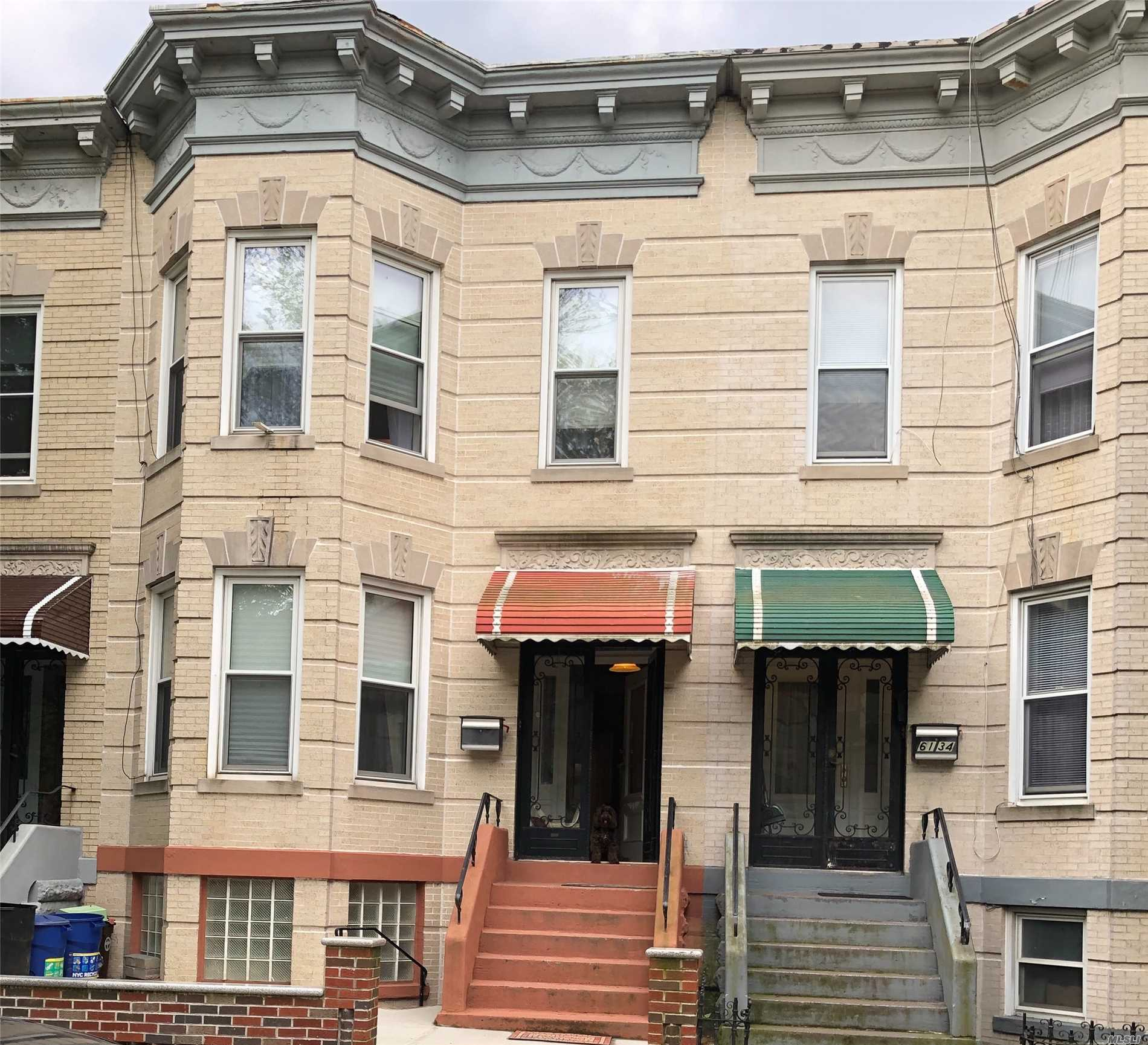 Residential For Sale in 6136 Gates Ave, Ridgewood, NY ,11385
