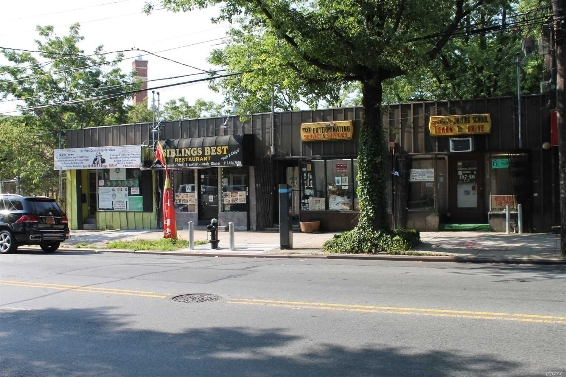 Commercial for sale in 18726 Linden Blvd, St. Albans, NY ,11412