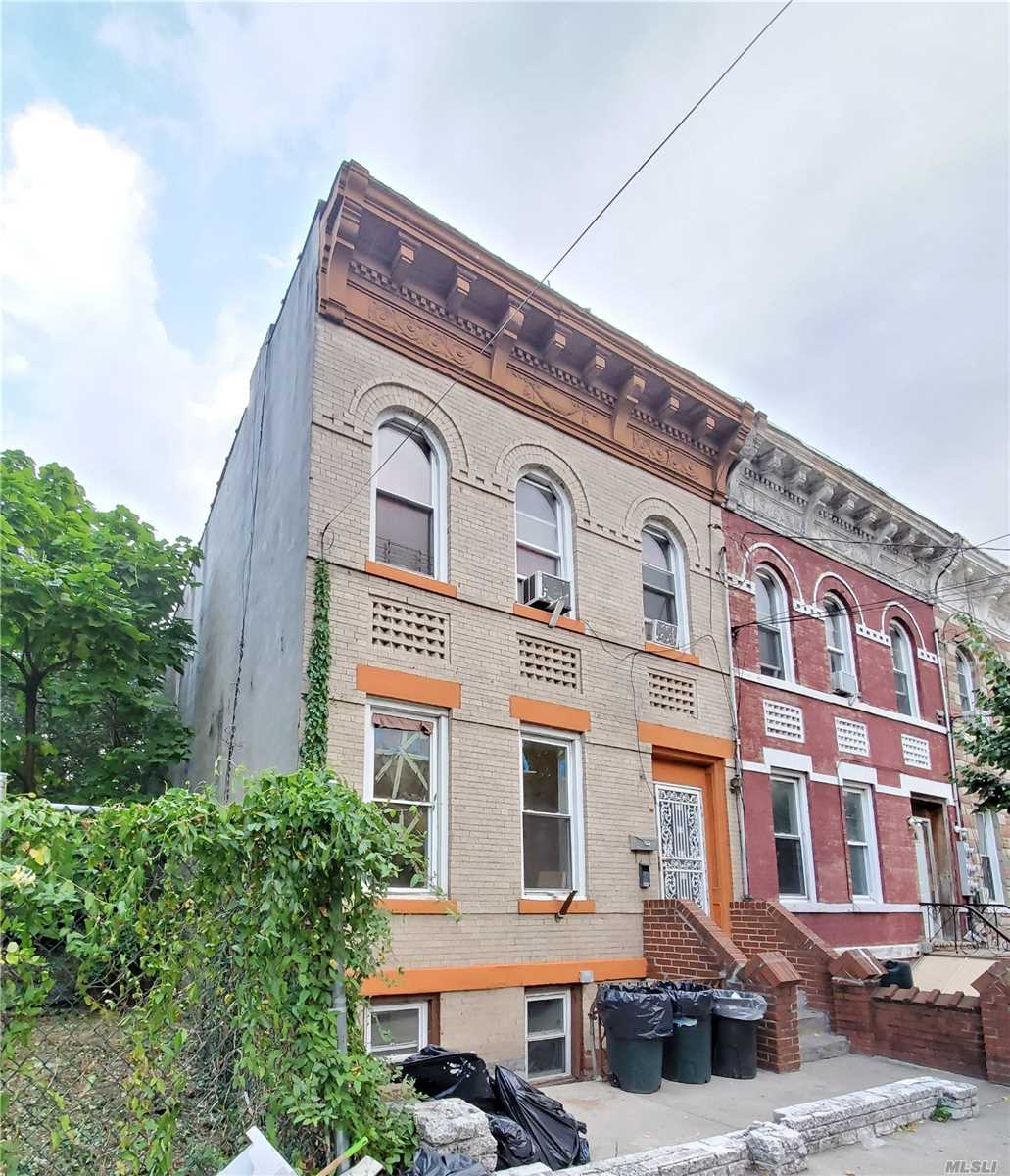 Residential For Sale in 591 Warwick St, Brooklyn, NY ,11207