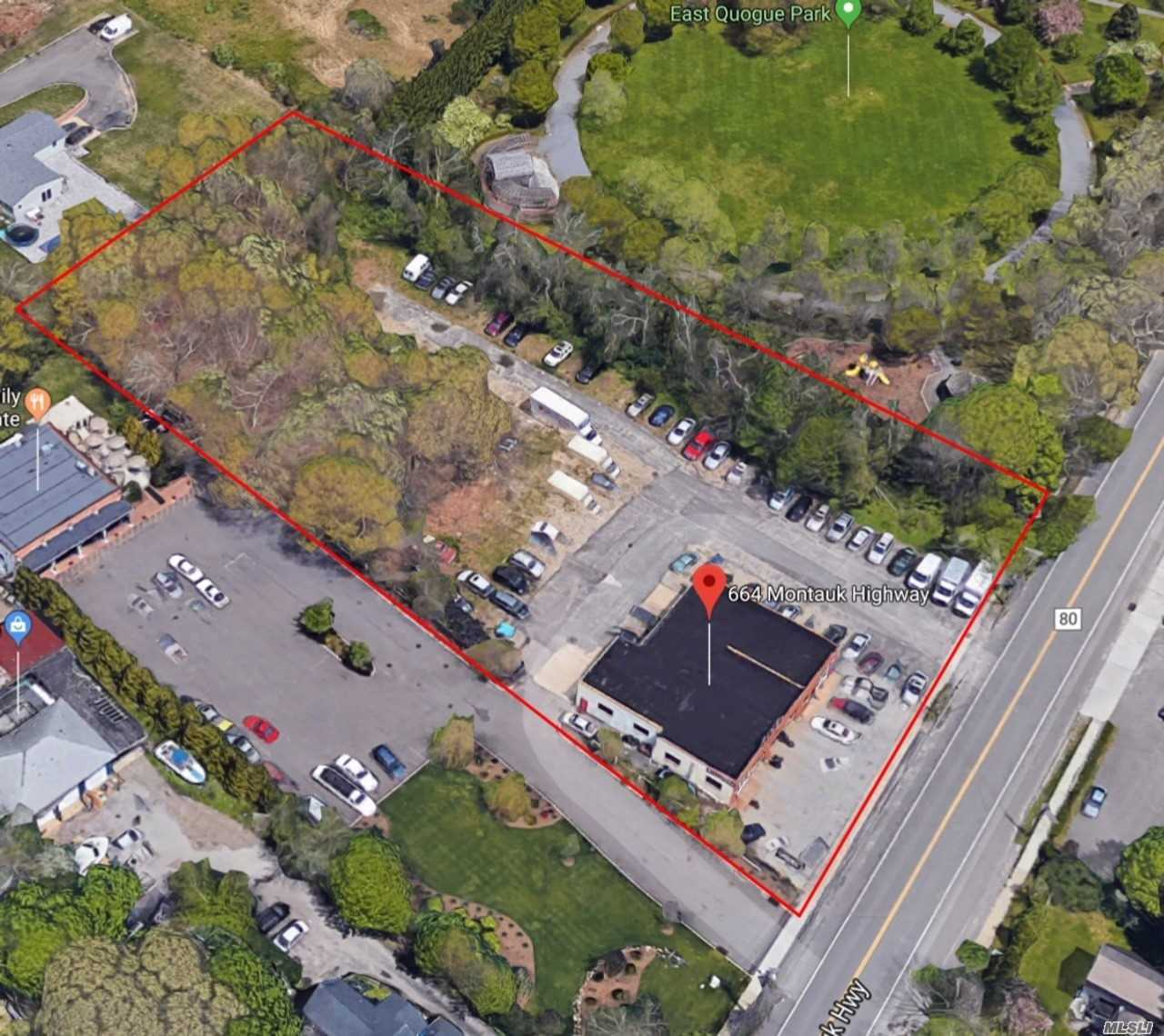 Commercial for sale in 656-664 Montauk Hwy, E. Quogue, NY ,11942