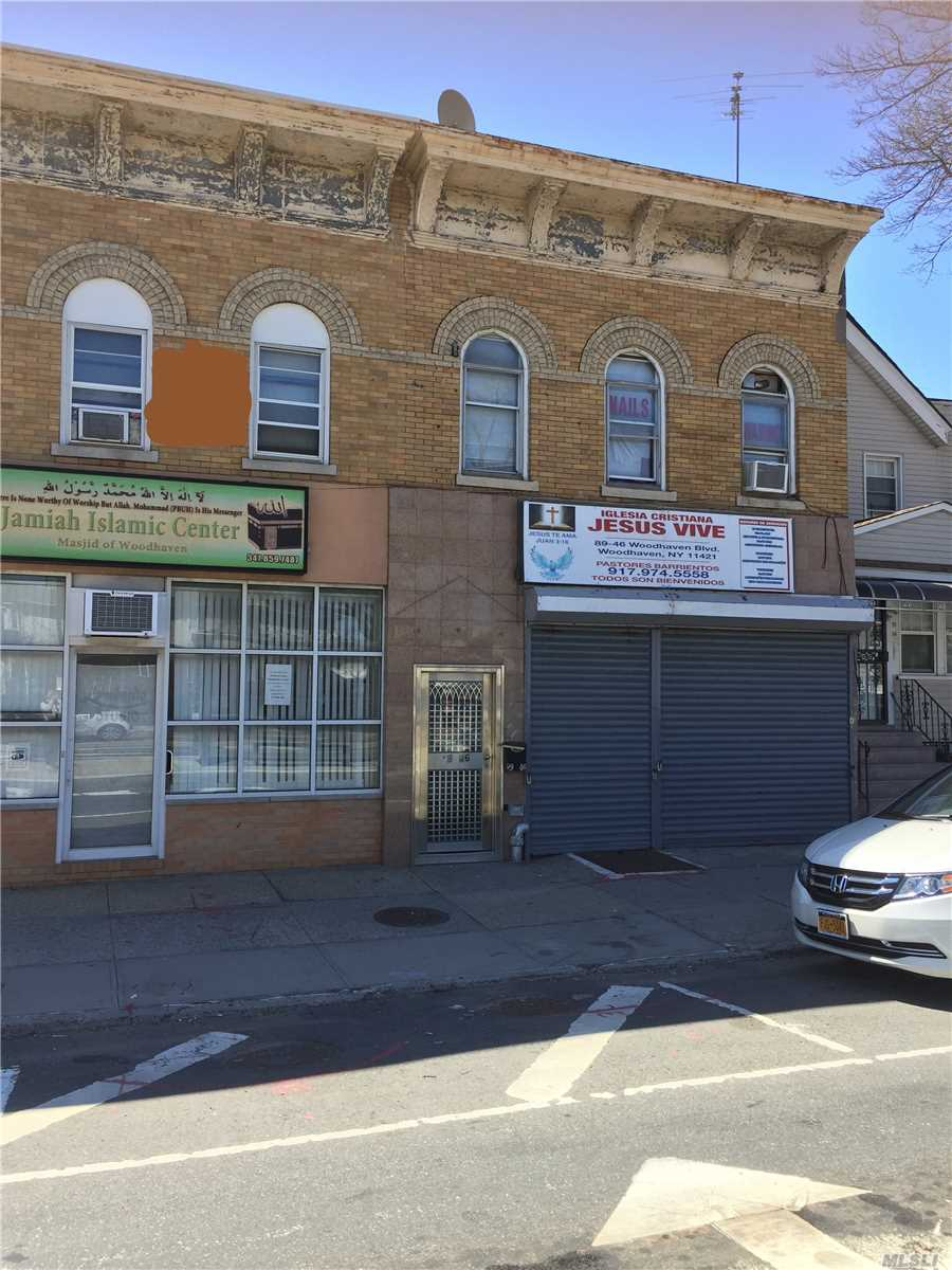 Commercial for sale in 89-46 Woodhaven Blvd, Woodhaven, NY ,11421