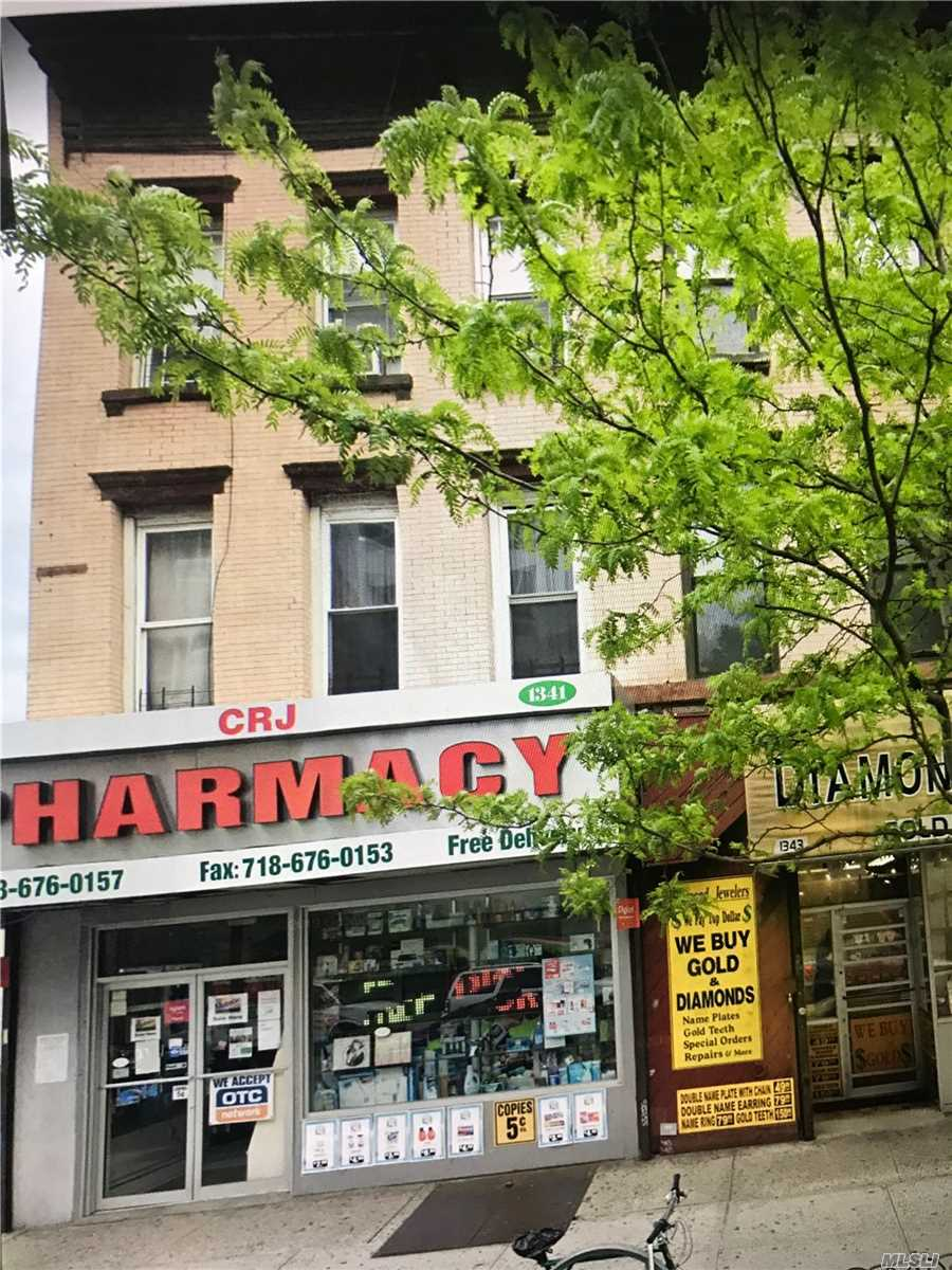 Residential For Sale in 1341 Fulton St, Brooklyn, NY ,11216