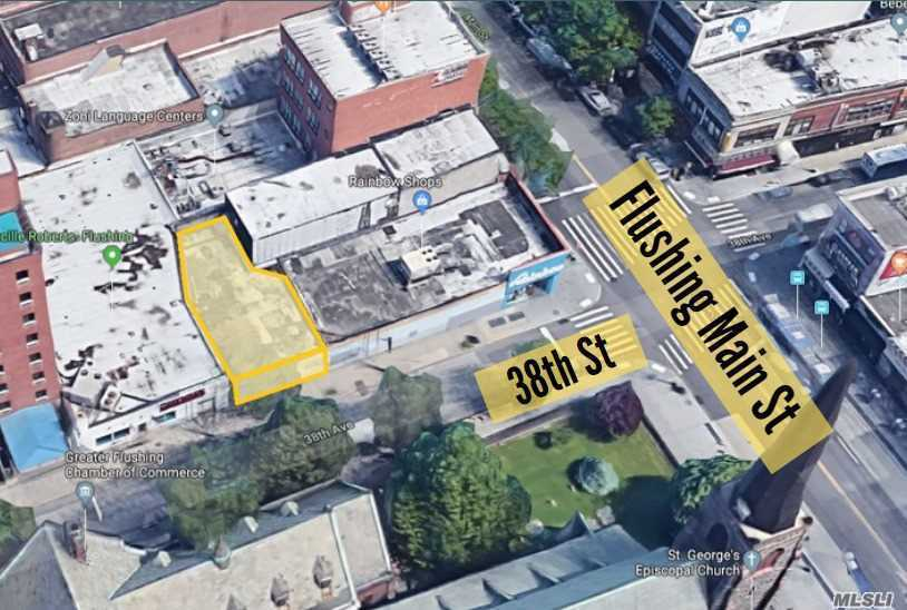 Commercial for sale in 135-41 38th Ave, Flushing, NY ,11354