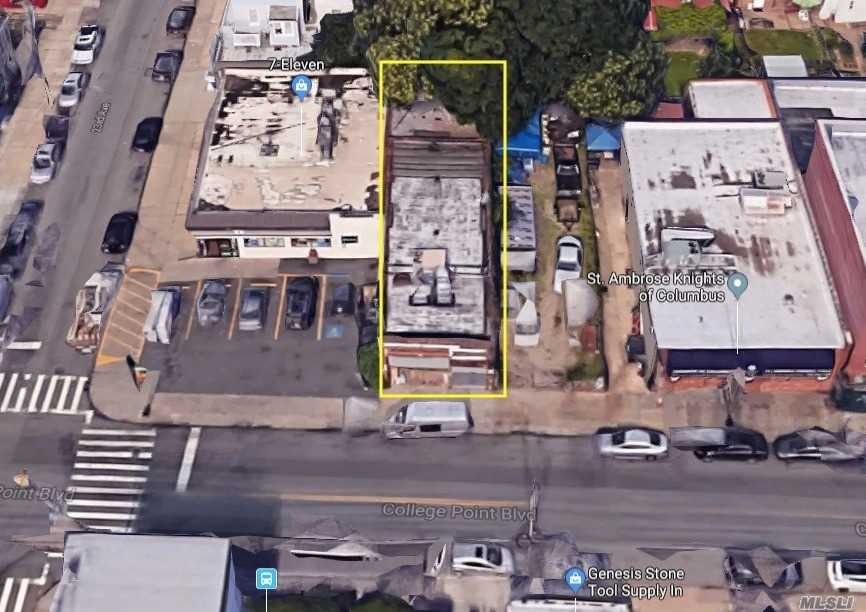 Commercial for sale in 22-44 College Point, College Point, NY ,11356