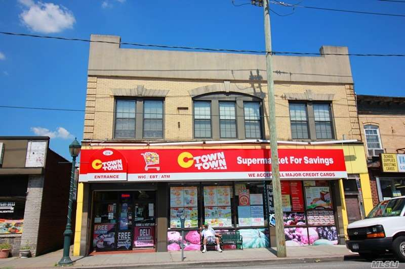 Commercial for sale in 214 Rockaway Ave, Valley Stream, NY ,11580