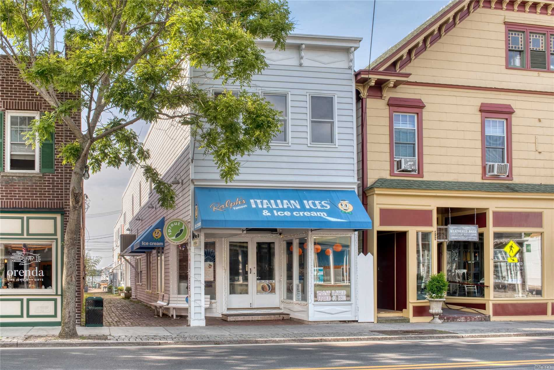 Commercial for sale in 37 Front St, Greenport, NY ,11944