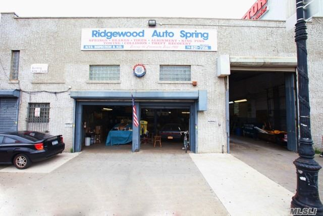 Commercial for sale in 63-07 Fresh Pond Rd, Ridgewood, NY ,11385