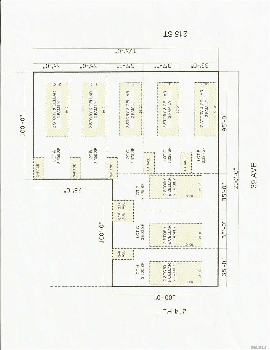 Land for sale in 214-43 39 Ave, Bayside, NY ,11361
