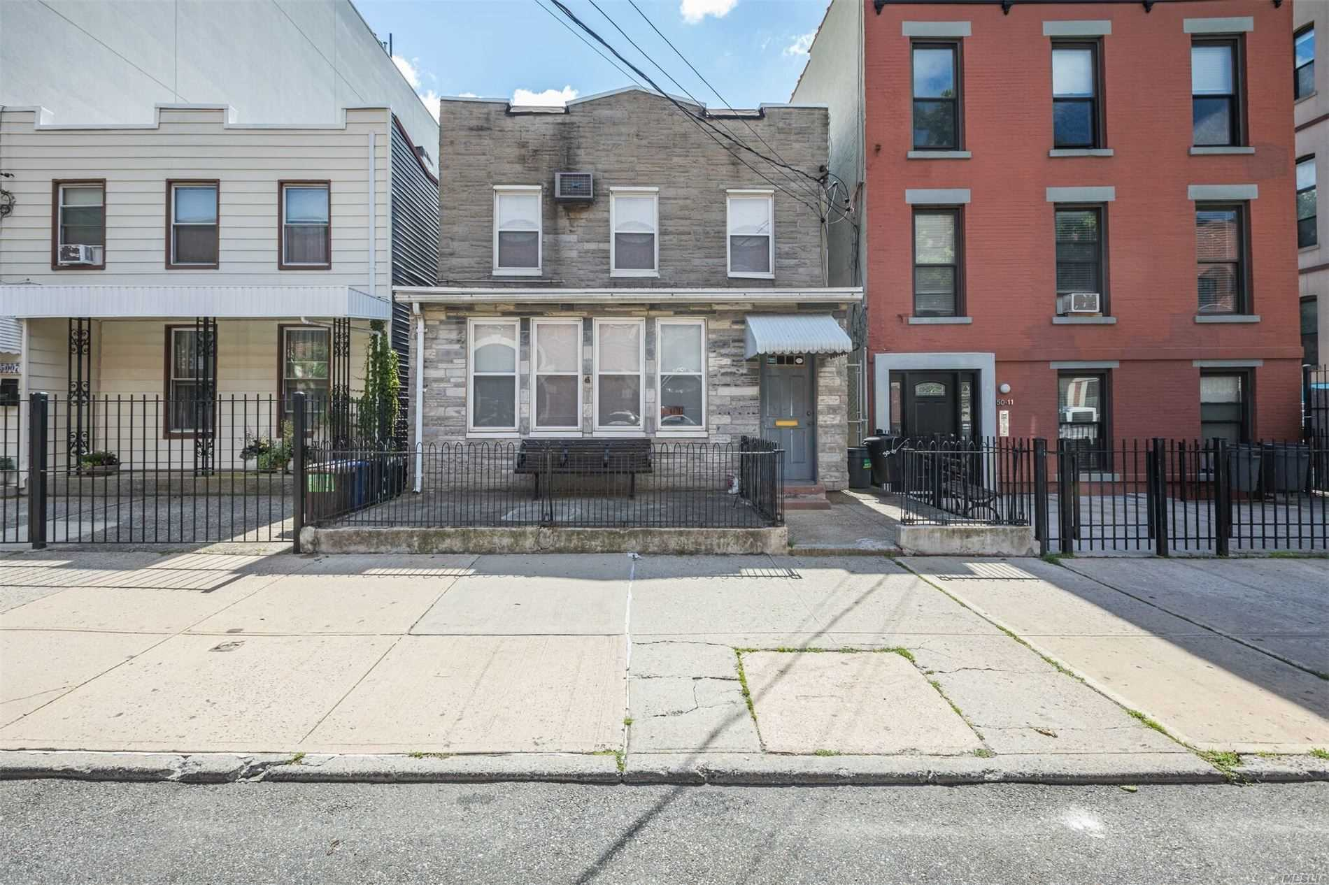 Residential For Sale in 5009 5th St, Long Island City, NY ,11101
