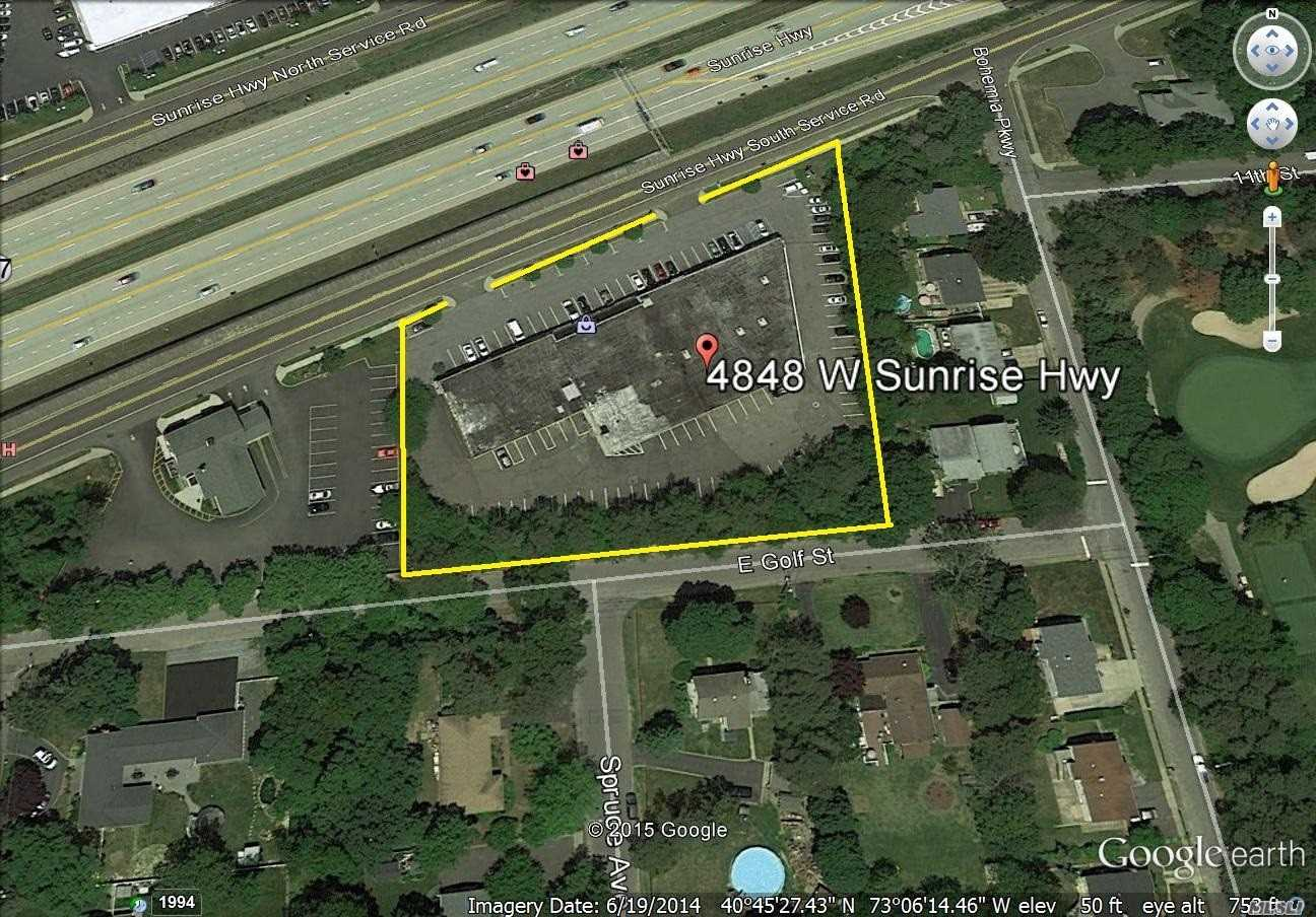 Commercial for sale in 4848 Sunrise Hwy, Sayville, NY ,11782