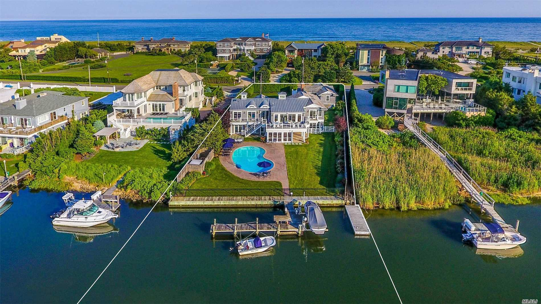 Residential For Sale in 126 Dune Rd, Westhampton Bch, NY ,11978