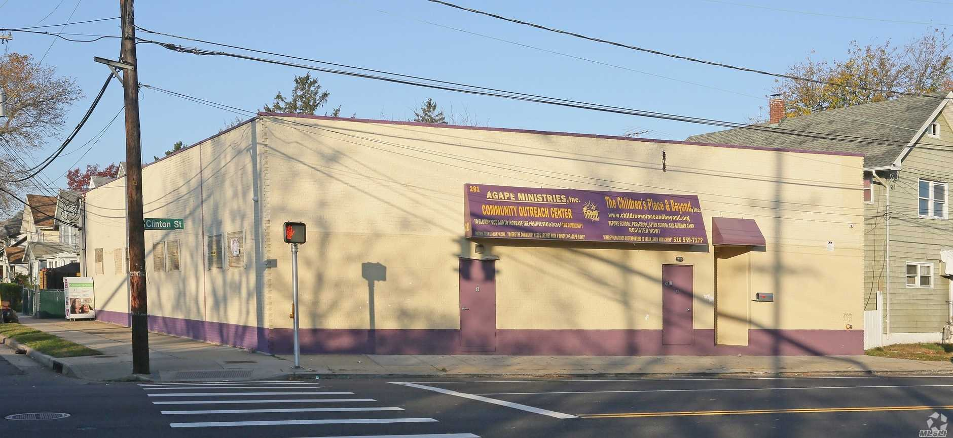 Commercial for sale in 281 Clinton St, Hempstead, NY ,11550