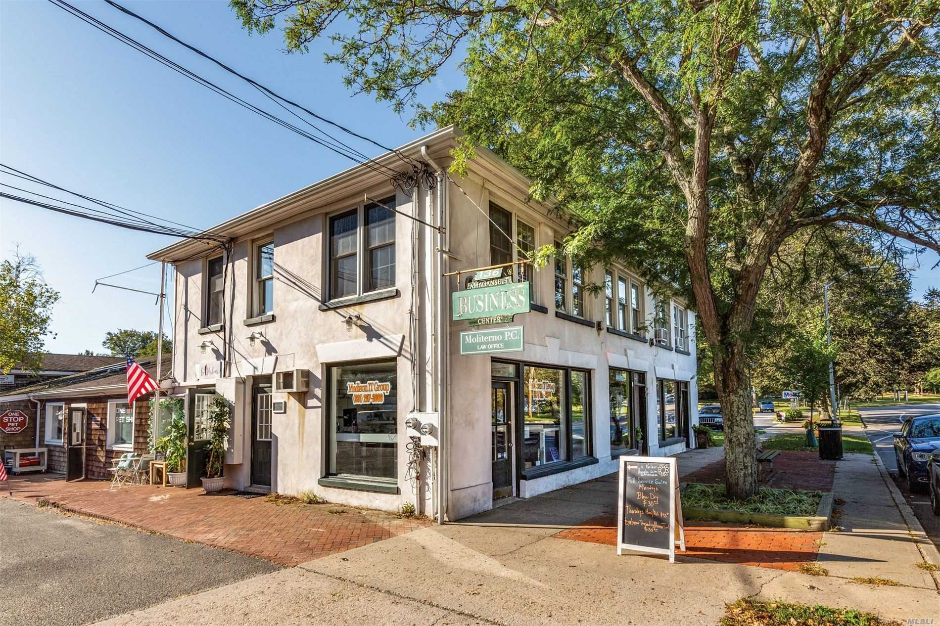 Commercial for sale in 136 Main Street, Amagansett, NY ,11930