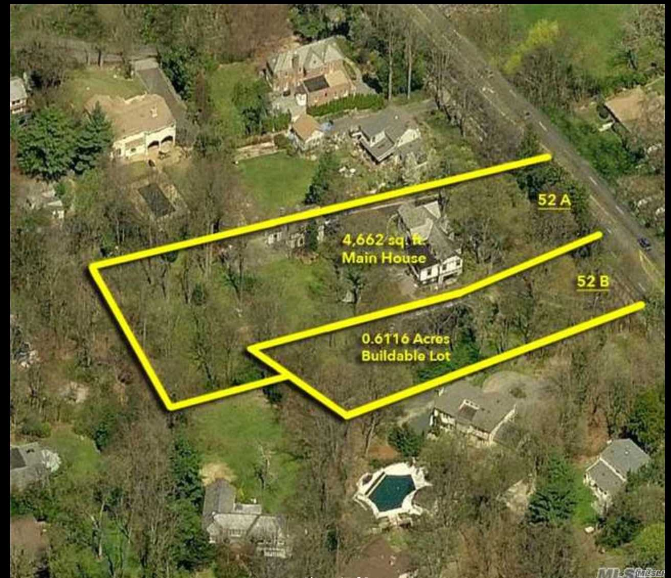 Land for sale in 52B Mineola Ave, Roslyn Estates, NY ,11576