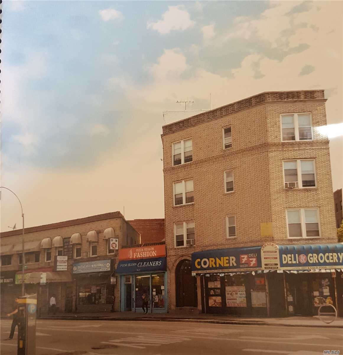 Commercial for sale in 76-11 BROADWAY, Elmhurst, NY ,11373