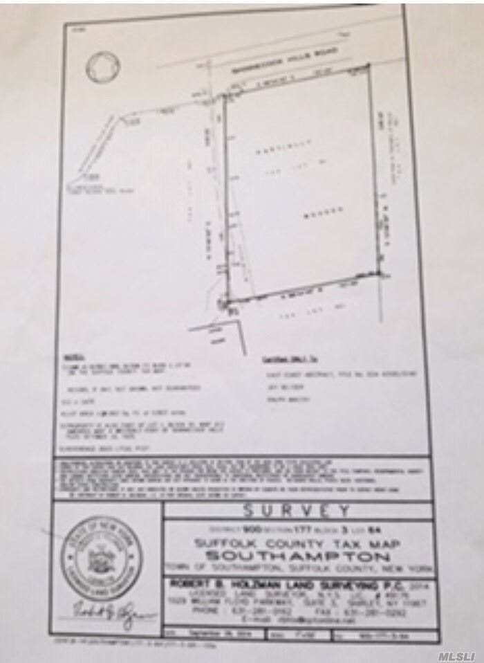 Land for sale in 66 Shinnecock Hills, Southampton, NY ,11968
