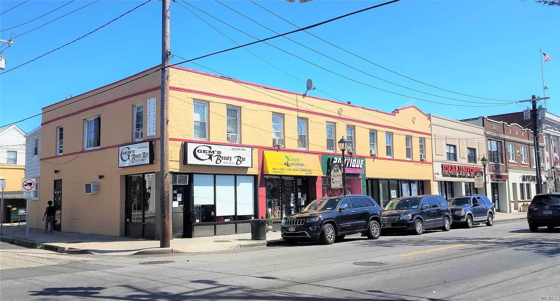 Commercial for sale in 161-173 Rockaway Ave, Valley Stream, NY ,11580