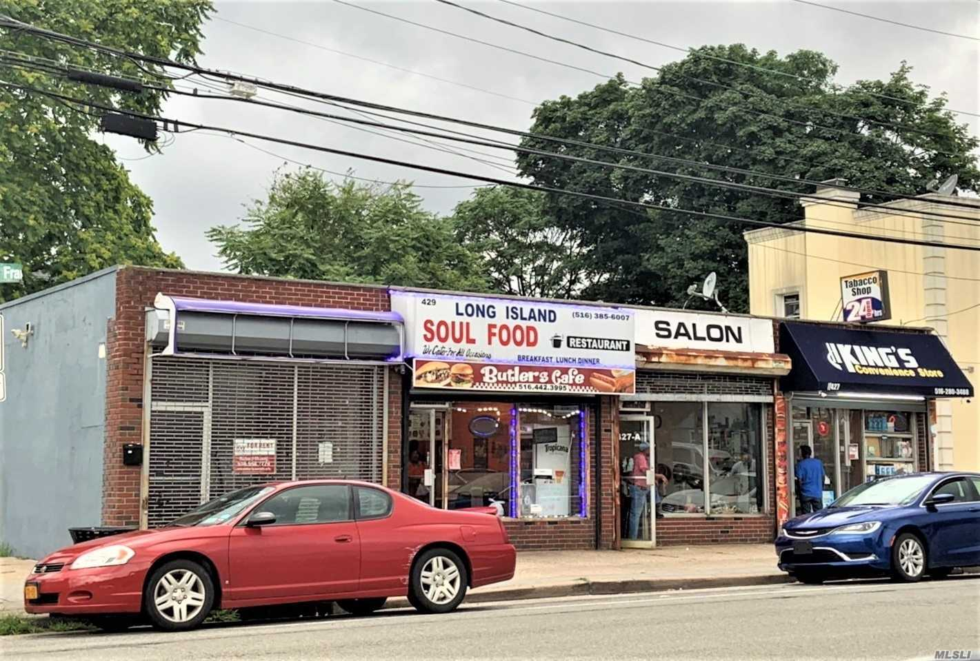Commercial for sale in 427-429 Franklin S St, Hempstead, NY ,11550