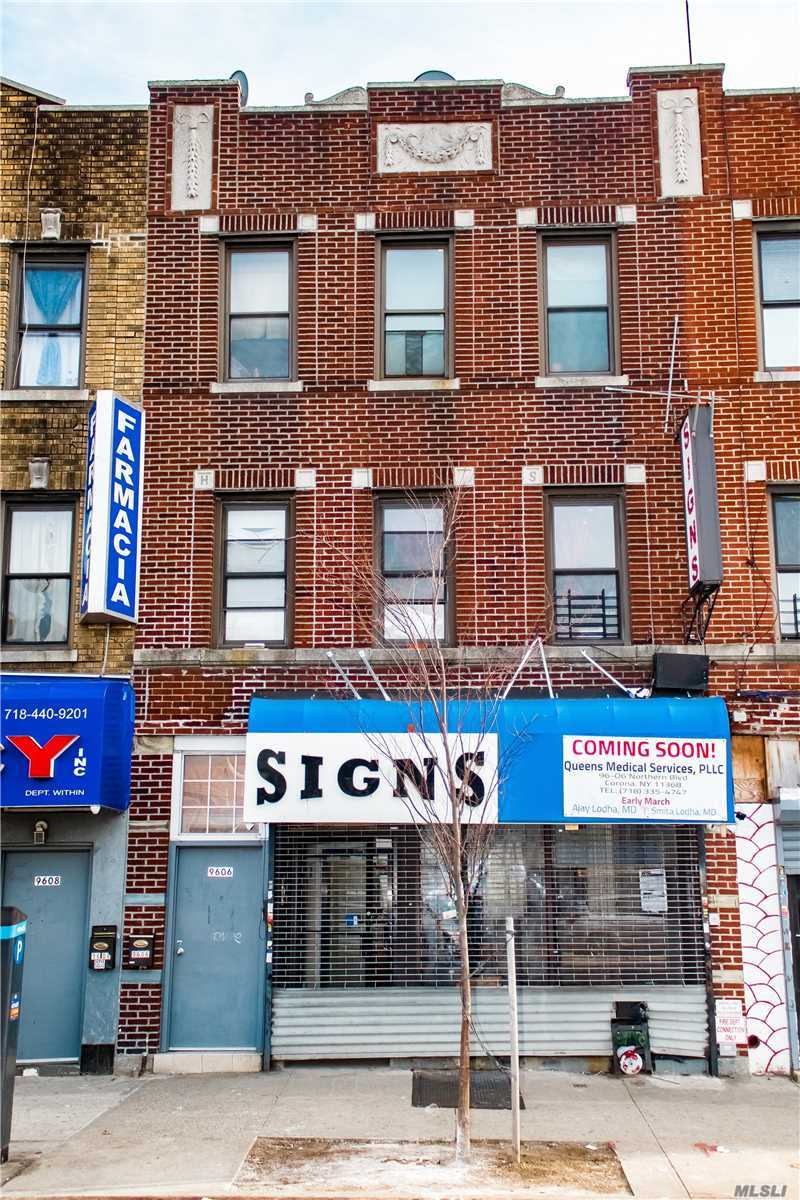Residential For Sale in 96-06 Northern Blvd, Corona, NY ,11368