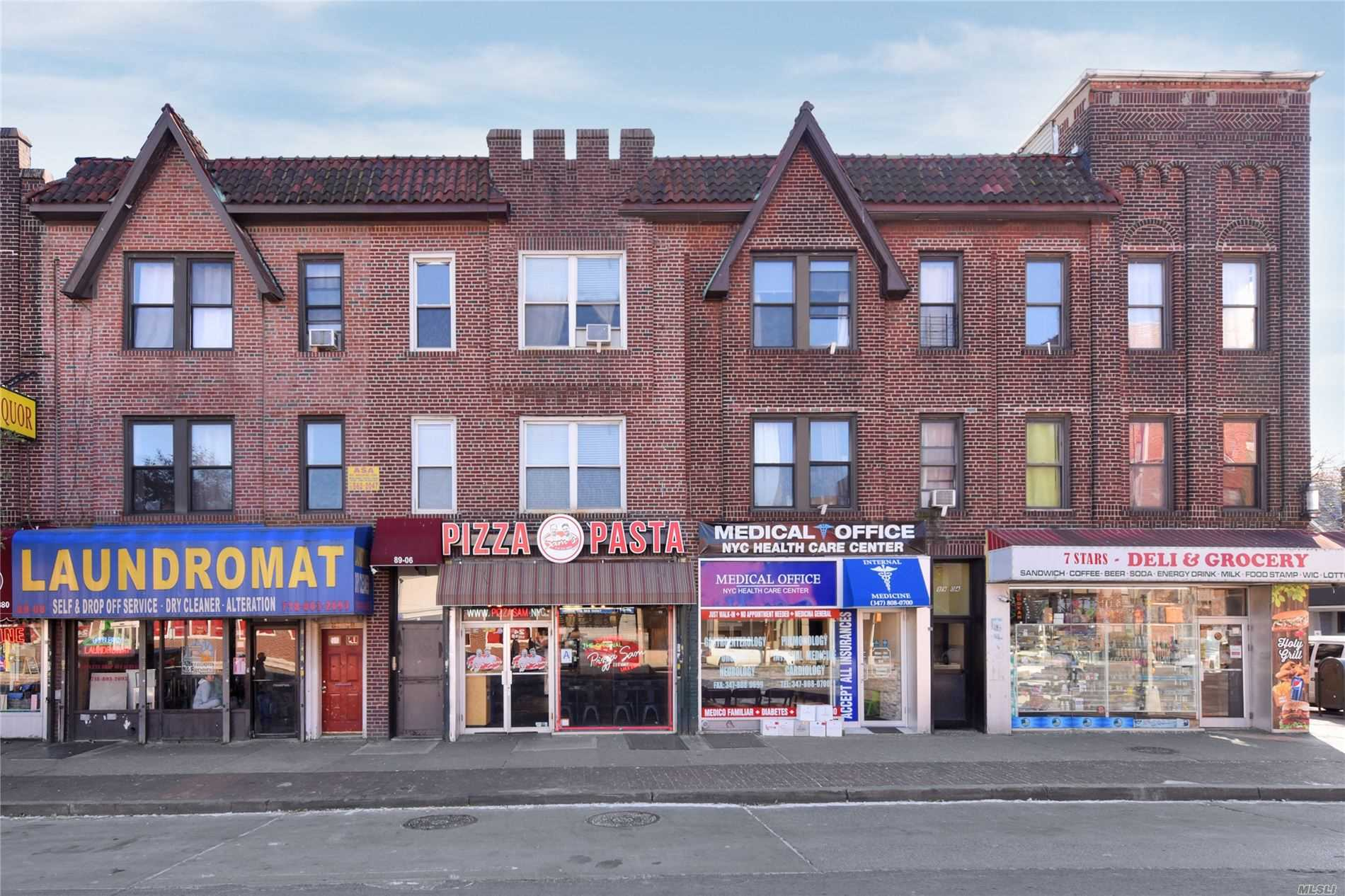 Commercial for sale in 8906 Northern Blvd, Jackson Heights, NY ,11372
