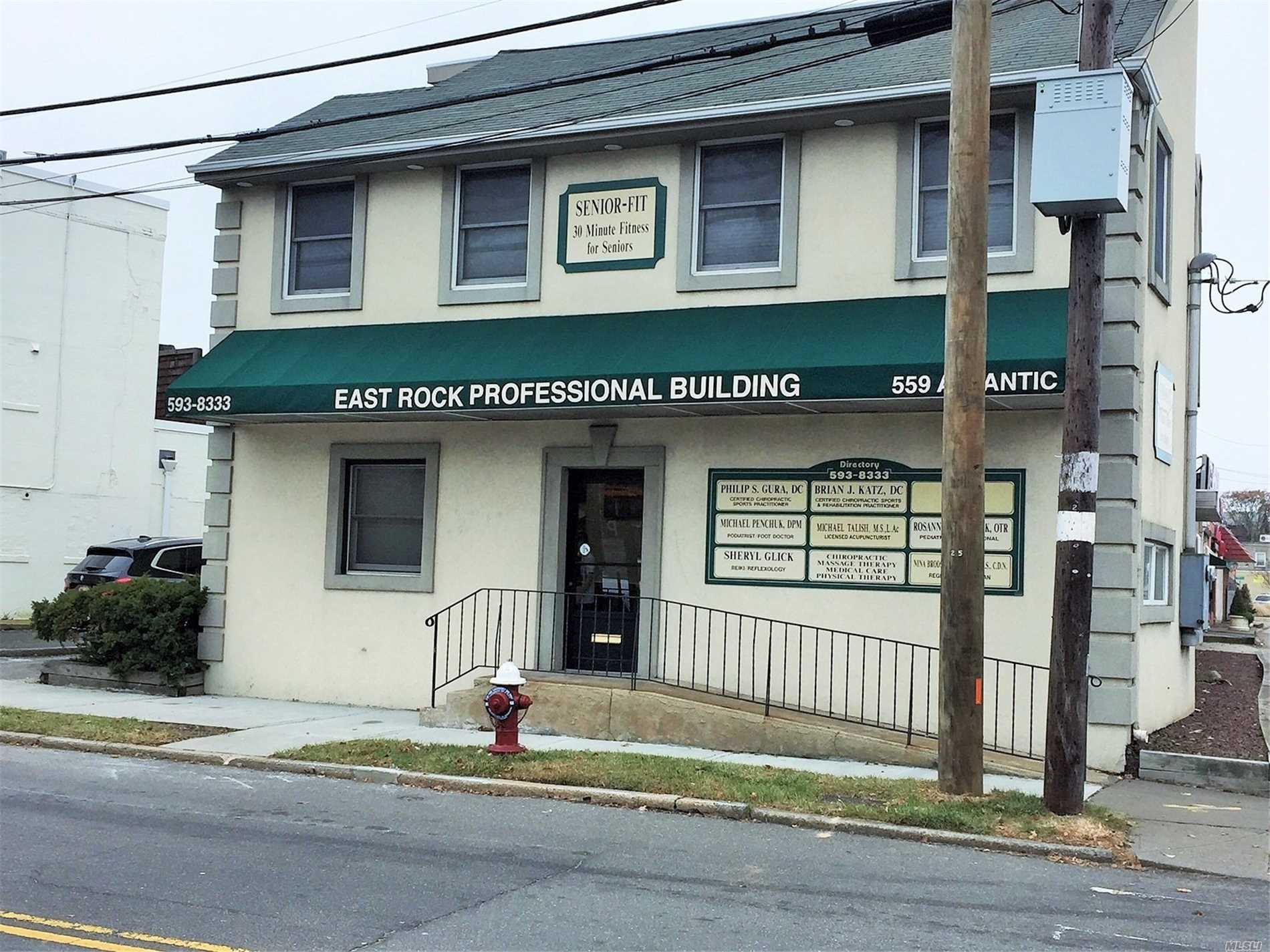 Commercial for sale in 559 Atlantic Ave, E. Rockaway, NY ,11518