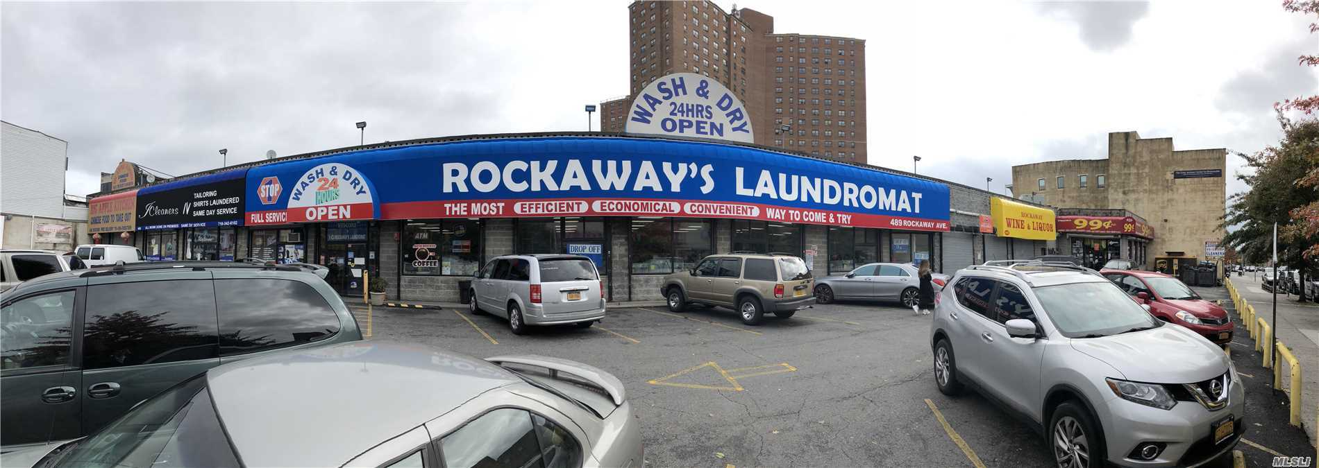 Commercial for sale in 489 Rockaway Ave, Brooklyn, NY ,11212