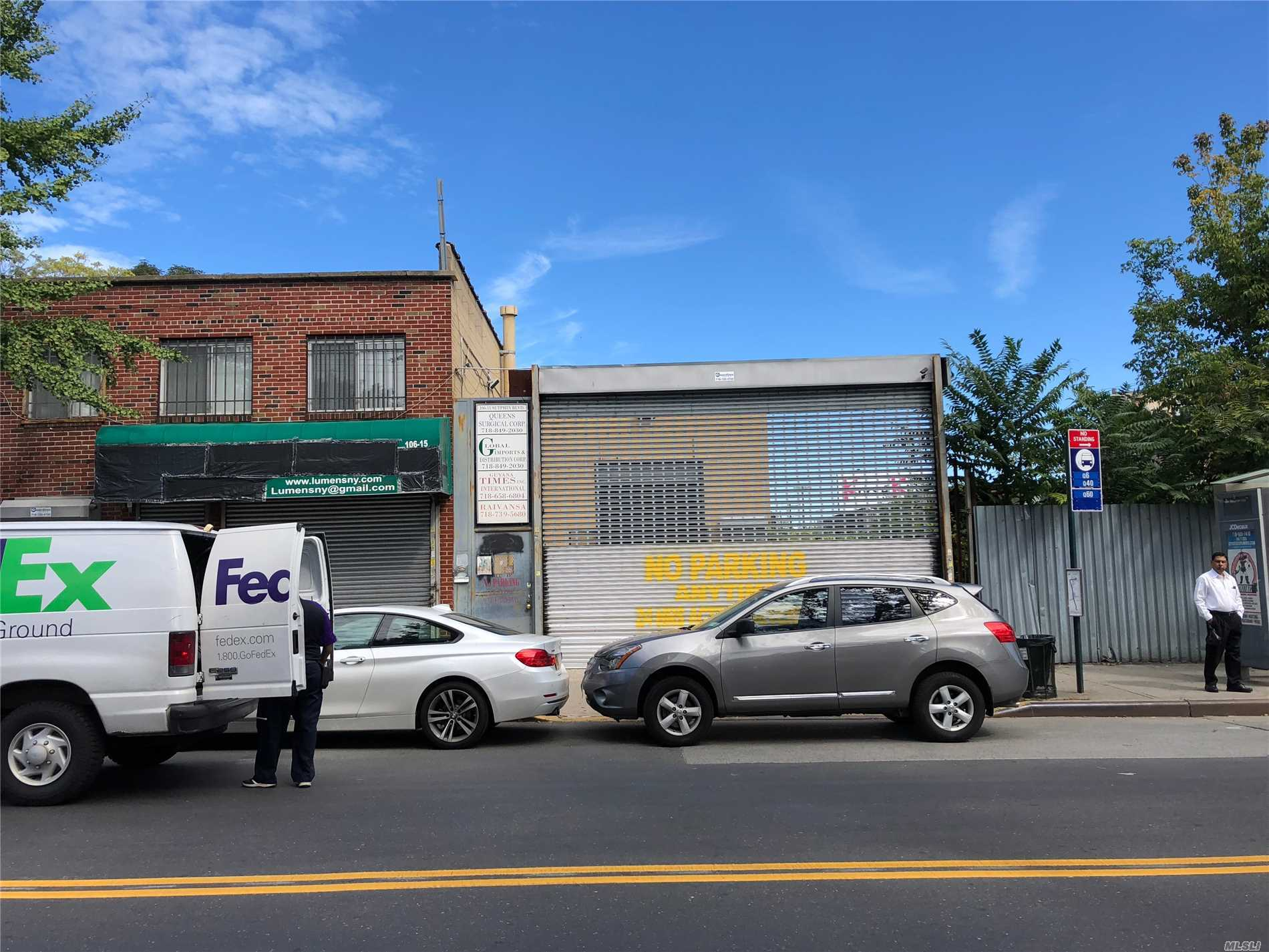 Commercial for sale in 106-15 Sutphin Blvd, Jamaica, NY ,11435