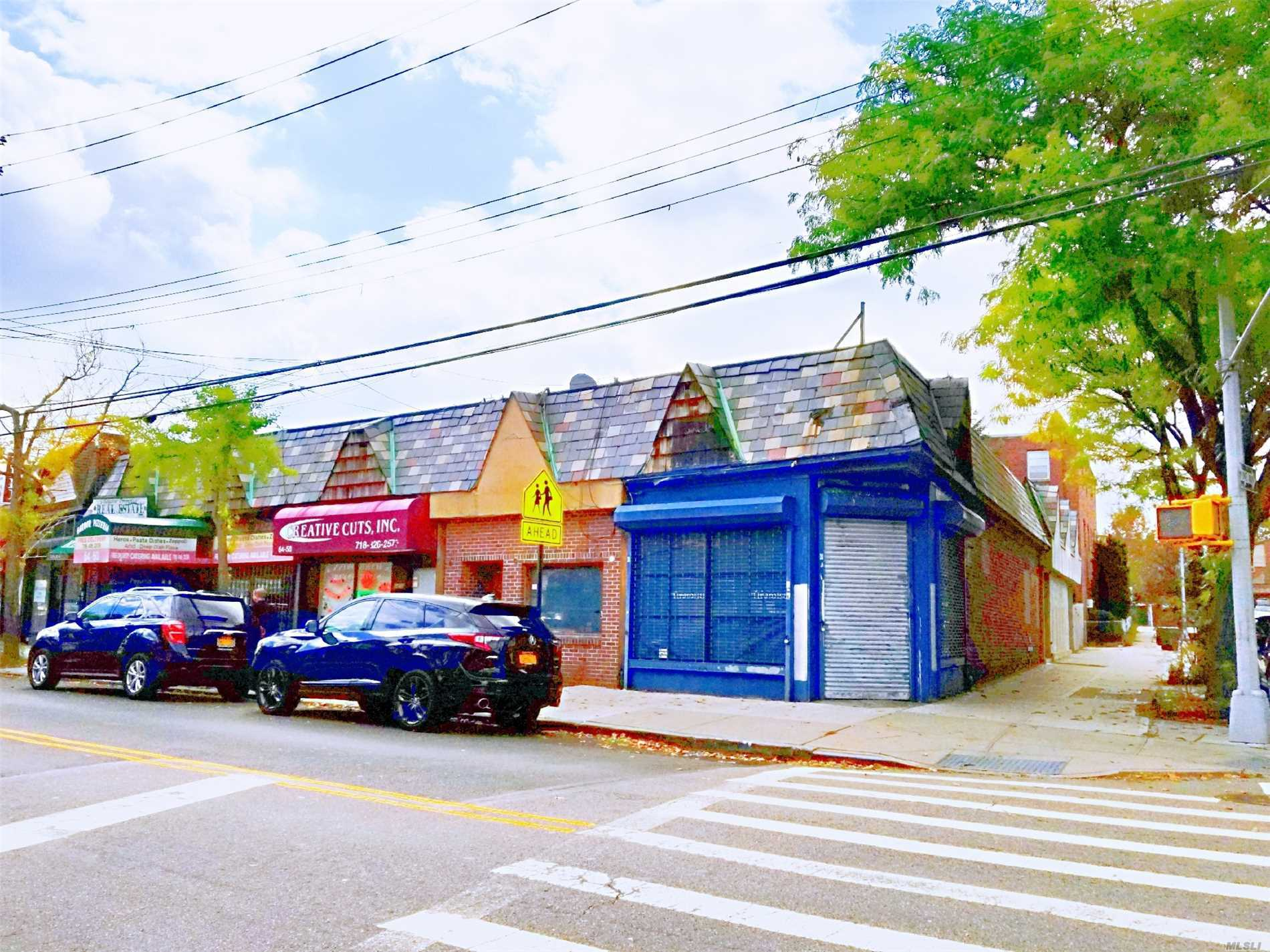 Commercial for sale in 64-54 Dry Harbor Rd, Middle Village, NY ,11379