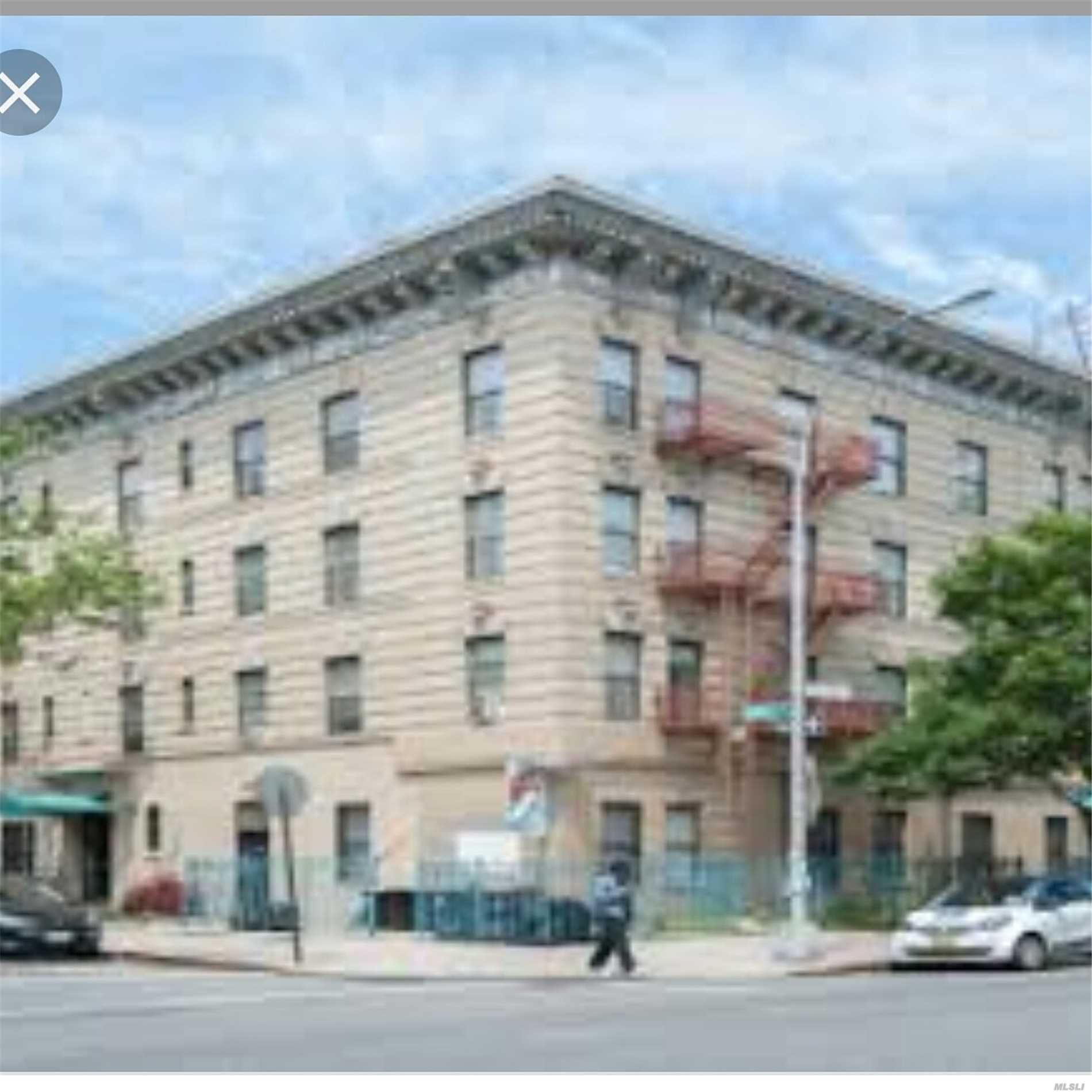Commercial for sale in 70 Patchen Ave, Brooklyn, NY ,11221