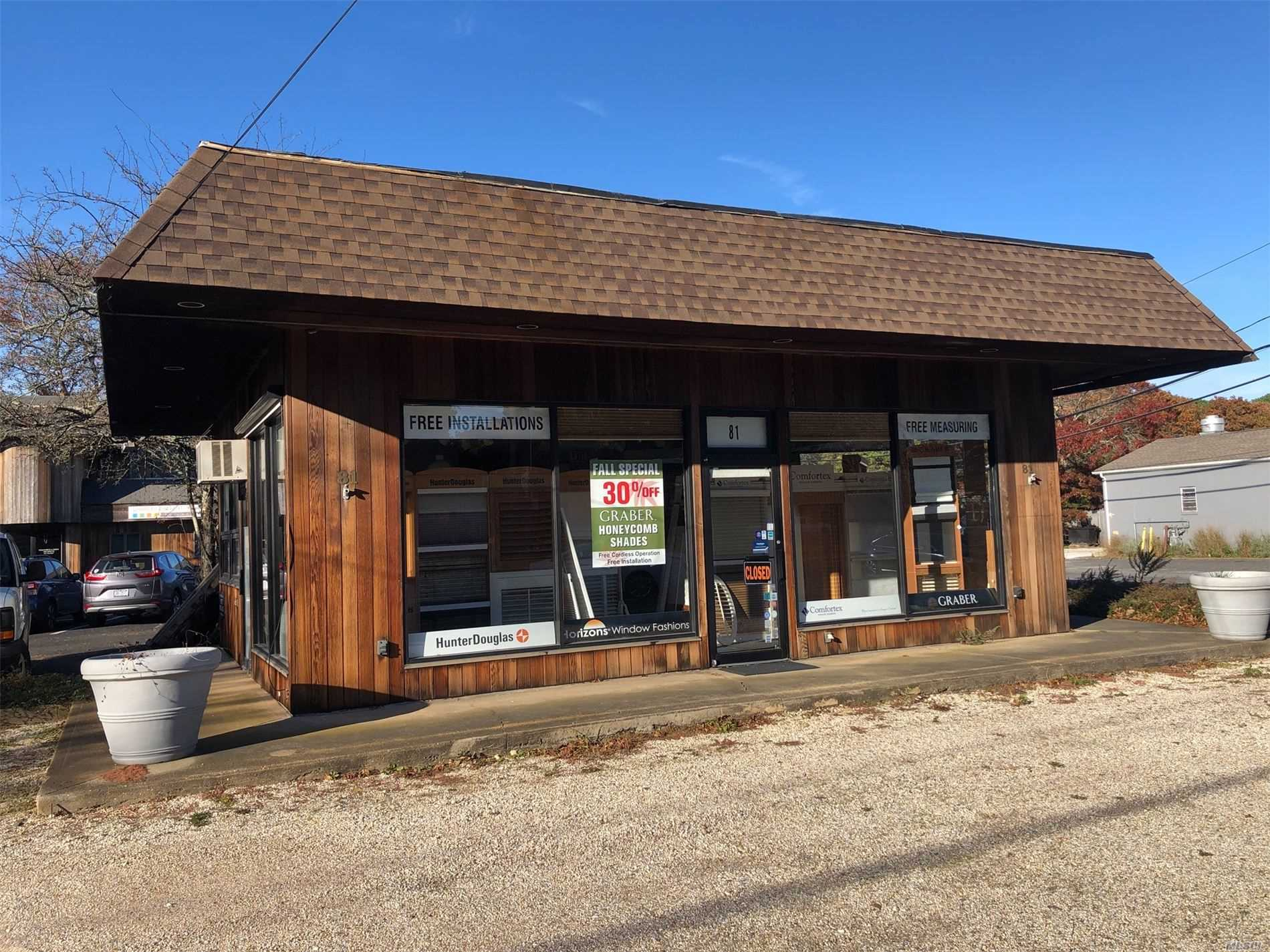 Commercial for sale in 81 Montauk Hwy, Wainscott, NY ,11975