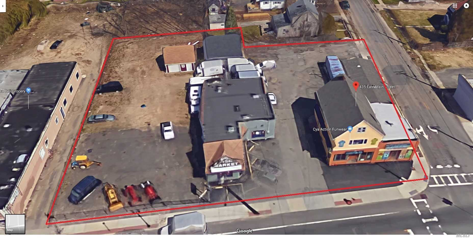 Commercial for sale in 427-435 Main E St, Patchogue, NY ,11772