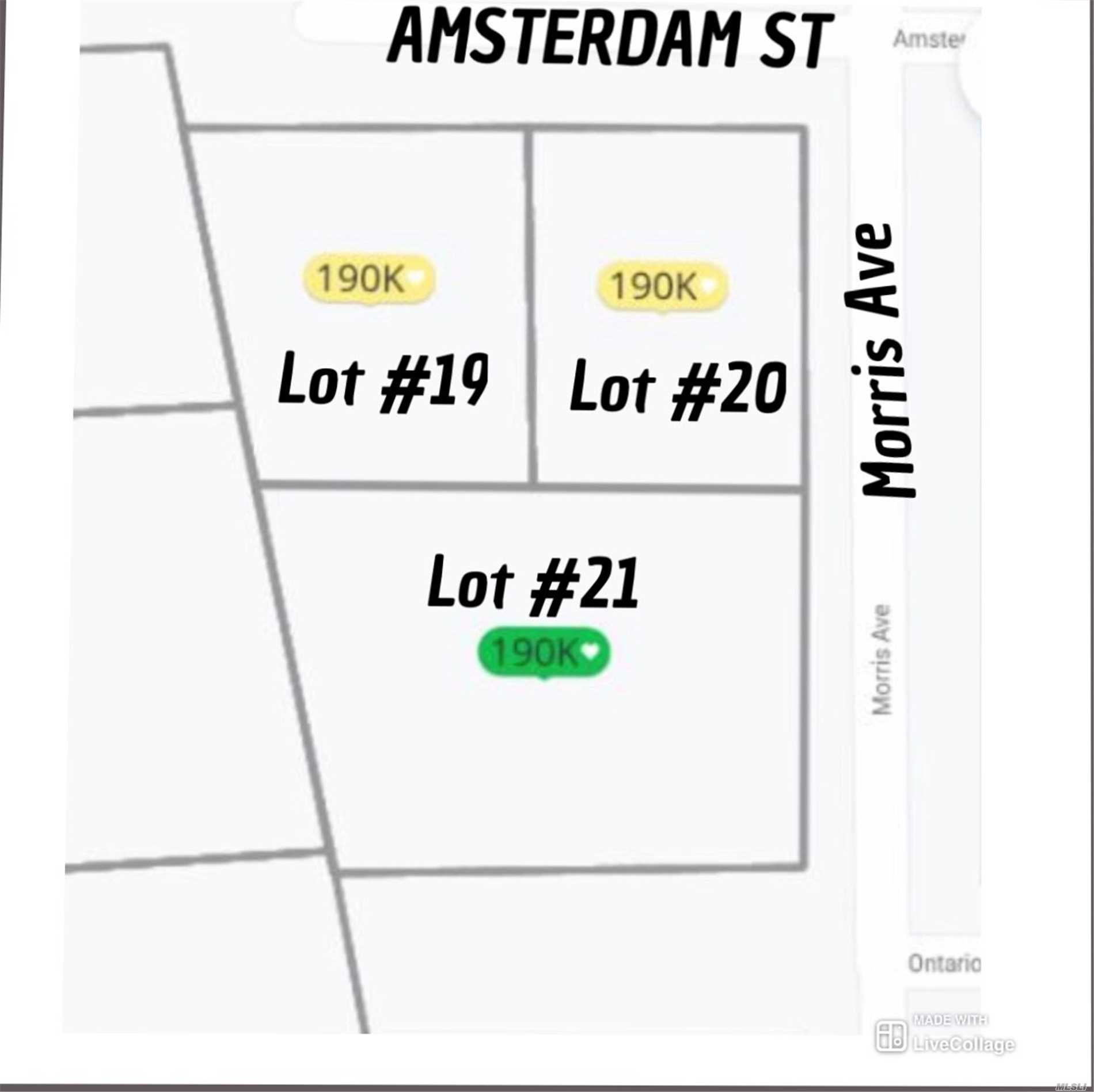 Land for sale in Amsterdam St, Huntington, NY ,11743