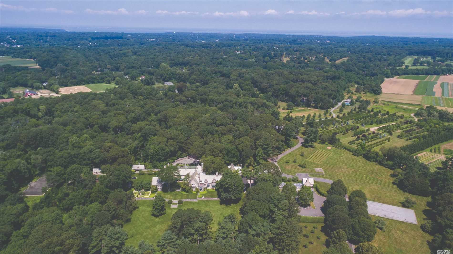 Residential For Sale in 1111 Cedar Swamp Rd, Old Brookville, NY ,11545