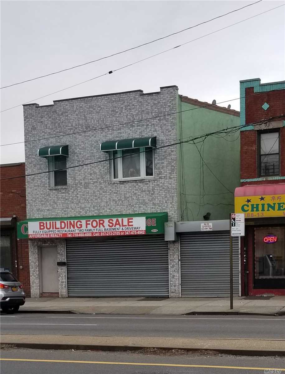 Commercial for sale in 188-09 Jamaica Ave, Hollis, NY ,11423