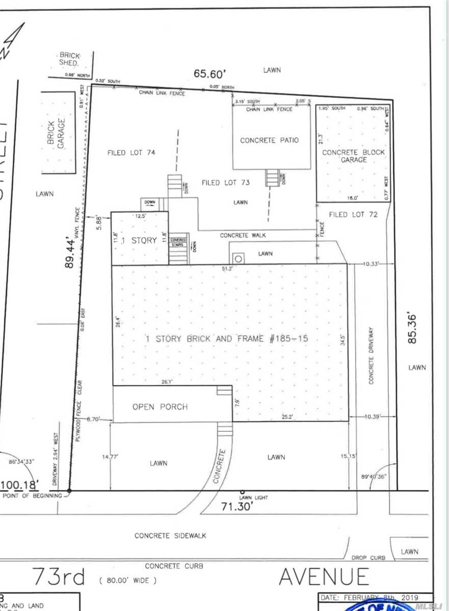 Land for sale in 188th St 73rd Ave, Fresh Meadows, NY ,11366