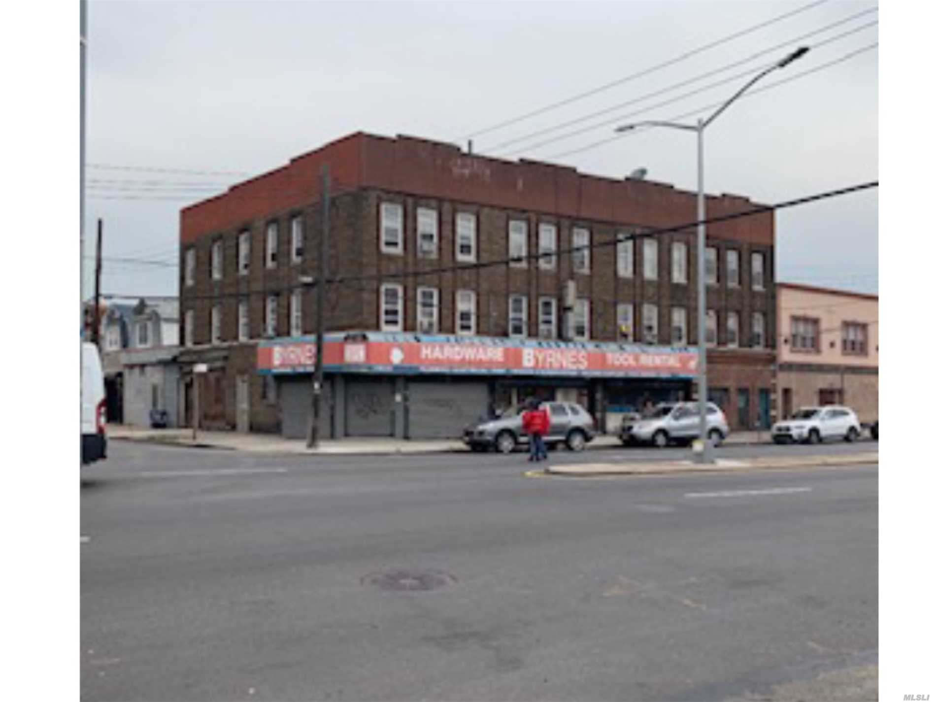 Commercial for sale in 178-01 Jamaica Ave, Jamaica, NY ,11432