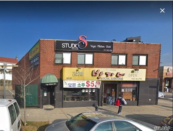 Commercial for sale in 165-19 Northern Blvd, Flushing, NY ,11358