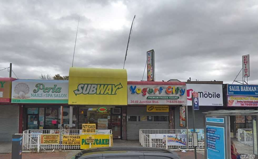 Commercial for sale in 34-47 Junction Blvd, Jackson Heights, NY ,11372