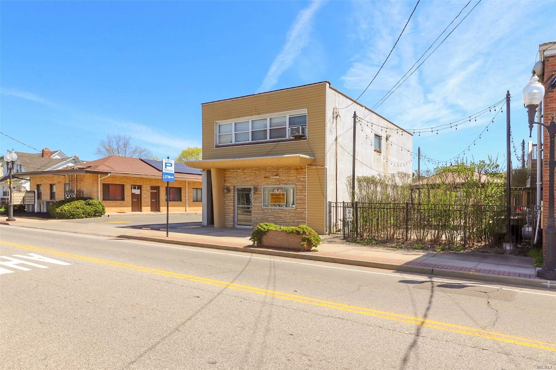 Commercial for sale in 99 Ocean N Ave, Patchogue, NY ,11772