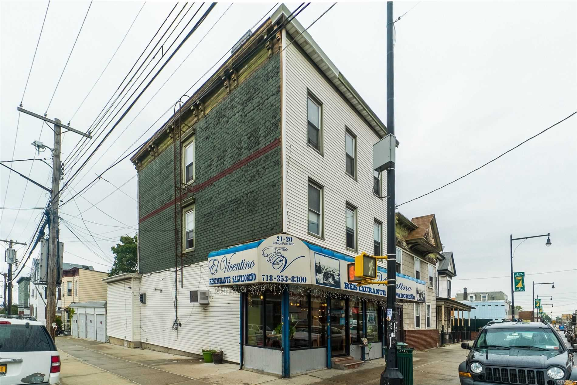 Commercial for sale in 21-20 College Point Blvd, College Point, NY ,11356